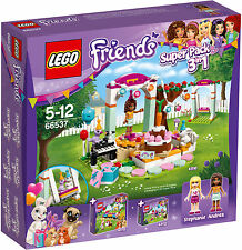 LEGO ® Friends 66537 SUPER PACK 3in1 (41110 41111 41112) NUOVO NEW OVP MISB