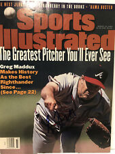 GREG MADDUX (Atlanta Braves) HOF signed Magazine 1995 Sports Illustrated