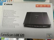 Canon CanoScan Lide 120 Flatbed Scanner - Schwarz (wie neu, unbenutzt)
