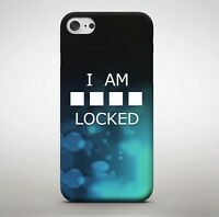I Am Locked Password Cheeky Nosey Private Funny Phone Case Cover