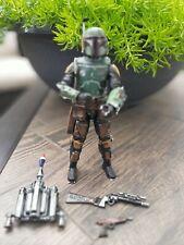 "Star Wars Custom Black Series 6"" Mandalorian Fett - Book of Fett armor lot"