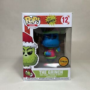 Funko Pop THE GRINCH Chase Dr. Seuss. #12 - DAMAGED BOX