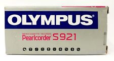 Olympus S-921 Pearlcorder Microcassette Voice Recorder BRAND NEW!!