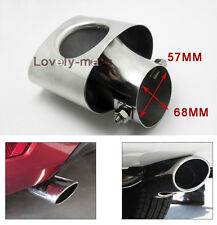 TAIL STAINLESS STEEL EXHAUST REAR MUFFLER TIP PIPE  for Honda CIVIC 2012-2014