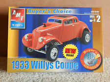 AMT 1933 Willys Coupe Model Kit   31227