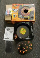 Lite Brite FX Flash Art Neon Paint Spinner 2 Animation Disc 4 paints Included
