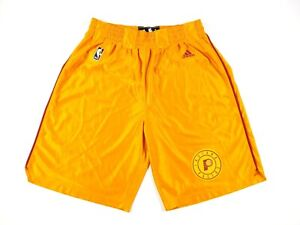 Adidas Indiana Pacers Hickory Hoosiers Basketball Shorts Mens Large HWC