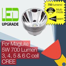 MagLite LED Conversion/upgrade bulb 700LM Torch/flashlight 3C 4C 5C 6C Cell CREE