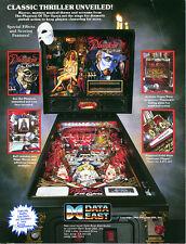 Data East Phantom of the Opera pinball cpu eprom upgrade