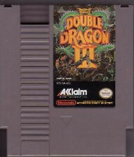 DOUBLE DRAGON III 3 THREE ORIGINAL NINTENDO GAME SYSTEM NES HQ