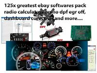 2019 New¡¡ 120x software pack radio calculators, egr, dpf, dashboard, immo off