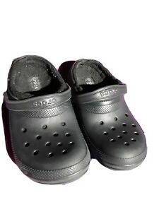 "CROCS 10""long4""wide 9 m/grey Slip on"