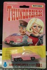 MATCHBOX THUNDERBIRDS FAB1  MINT ON CARD 1992