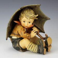 """Large Hummel Goebel Germany Umbrella Boy 152 TMK5 Porcelain 8"""" Figurine NR DSL"""