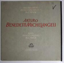 Rachmaninoff Piano Concerto 4 Arturo Benedetti Michelangeli LP Angel S 35567