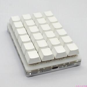 Programmable 24-key Keyboard USB Interface Macro Keypad for Cherry Red Shaft BEU