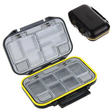 12 Compartments Waterproof Storage Case Fishing Lure Spoon Hook Bait Tackle Box
