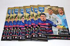 Panini FIFA 365 Saison *2016* ED. CZ/SVK - 10 x LEERALBUM EMPTY ALBUM NOT MINT