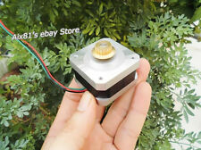 12V 2 Phase 4 Wire 42 Stepper Motor 26mm Stepping Motor with Copper Gear