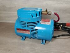 Paasche D500 Airbrush Diaphragm Compressor 1/10th Hp 115 Volt 60 Cycle w/ Hose