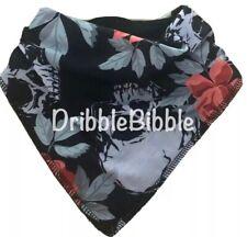 ❤ Baby Child Dribble Bib Catcher Dry Bandana Girl Boy Dog ❤ Red Leopard Print ❤