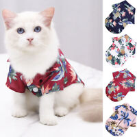 Pet Summer Clothes Soft T-shirt Dog Printed Costume Apparel Dog Accessory Outfit