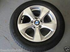 """Genuine BMW serie 3 estilo 306 16"""" pulgadas único Aleación Rueda De Repuesto & Neumático X1 (izquierda)"""