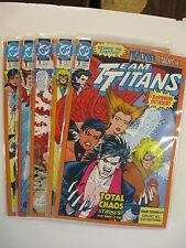 *TEAM TITANS 1-24 w/all covers of #1, ANN 1-2 COMP SET (All nm-/m) 30 books