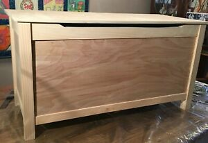 wooden chest, toy chest, storage chest, blanket chest, modern, handmade