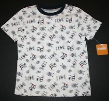 New Gymboree Ivory Robot Tee Top Shirt Size 4 Year NWT Everyday Playwear Line