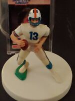"DAN MARINO 4""FIGURE-HELMET & FOOTBALL, ARMS MOVE, ENCLOSED IN CASE, LIFE LIKE!"