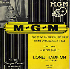 LIONEL HAMPTON COOL TRAIN FRENCH ORIG EP