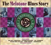 THE MELOTONE BLUES STORY - VARIOUS ARTISTS  (NEW SEALED 2CD)