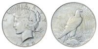 1925-S Peace Dollar Brilliant Uncirculated - BU