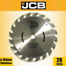 3x PDA 184mm x 16mm Bore 18T Universal Wood//Timber//Composite Circular Saw Blades