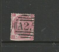 Malta, GB Used in, 1859/84 3d Rose, PL 5, A25 Cancel, FOOF, SG Z43, note perfs a