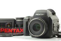 [NEAR MINT] Pentax 645NII NII Camera w/ FA 75mm f/2.8+ 45mm f/2.8  From JAPAN