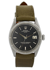 Rolex Oyster Perpetual Date 1500 Gild Dial Vintage Men Watch