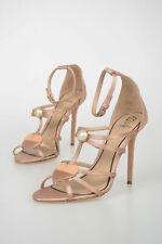 PAULA CADEMARTORI women  Size 38 it Pink Ankle Strap Sandals Shoes Leather  3...