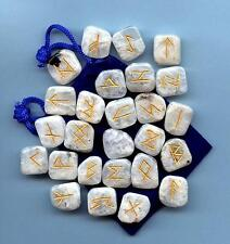 Rainbow Moonstone Runes Set