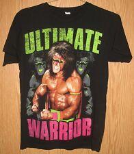 Ultimate Warrior - WWE WWF Wrestling Wrestler T-Shirt (Small)