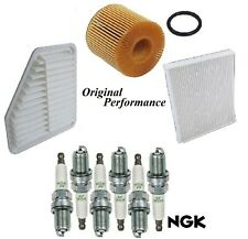 Tune Up Kit Air Cabin Oil Filters Spark Plugs For LEXUS ES350 V6 3.5L 2007-2012