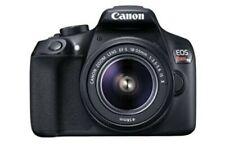 Canon EOS Rebel T6 EF-S 18-55mm IS II SLR Camera -Black Manufacturer refurbished