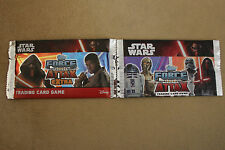 FORCE ATTAX STAR WARS x2 SETS TRADING CARDS
