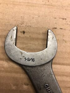 """Bonney #1250 1 9/16"""" Specialty Service Pump Angle head Wrench USA"""