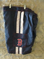 Boston Red Sox blue swimsuit trunks size XXL 100% polyester NWT shorts 2xl