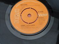 BACCARA : SORRY I'M A LADY - love You Till I Die : RCA VICTOR : PB 5555