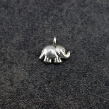 Thai Hill Tribe Silver Elephant Charm (HTCEL01)
