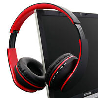 Foldable Wireless Bluetooth Headsets Stereo Headphones Earphone For Phone Laptop