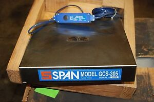 Ei Span, Scale,   300#  Load Cell,  GCS-305, 8.5-26VDC, 15mA, 0-5VDC, NEW in Box